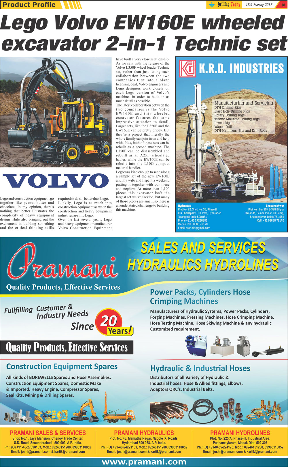 Drilling Today - Drilling Magazine January 2017 page 18